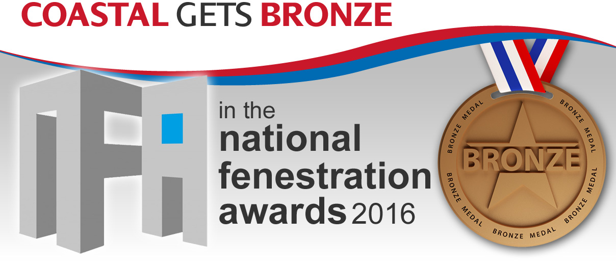 Coastal Wins Bronze at Fenestration Awards 2016