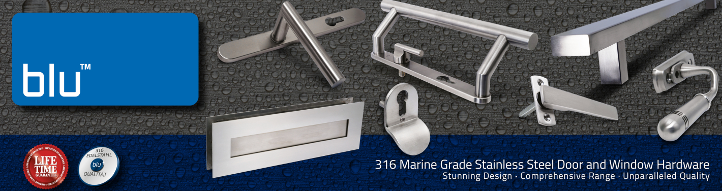 blu™ 316 Marine Grade Stainless Steel Hardware | Coastal Group