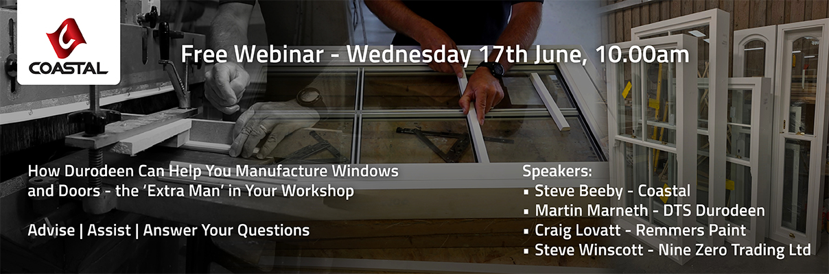 Webinar Resource Pack Download - How Durodeen Can Help You Manufacture Doors and Windows with Less Staff Blog Header