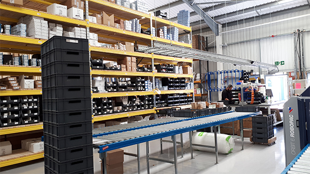 Coastal Warehouse Packing Line