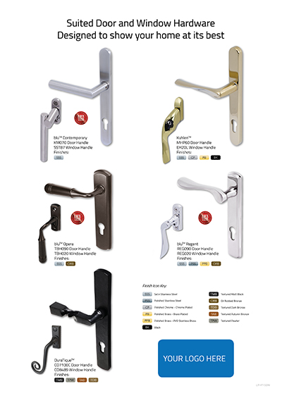 Suited Door & Window Hardware