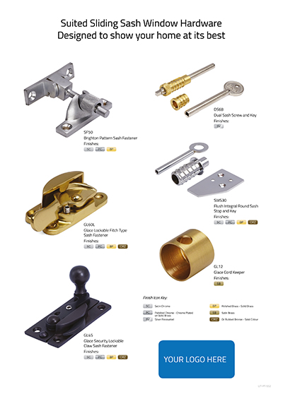 Suited Sliding Sash Hardware 2