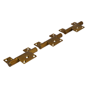 CF6 Polished Brass CoFold Non-Mortice Offset Hinge Set