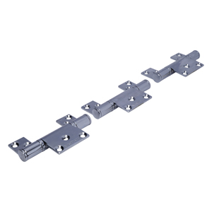 CF6 Polished Stainless Steel CoFold Non-Mortice Offset Hinge Set
