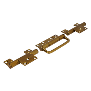 CF7 Polished Brass CoFold Non-Mortice Offset Hinge Handle Set