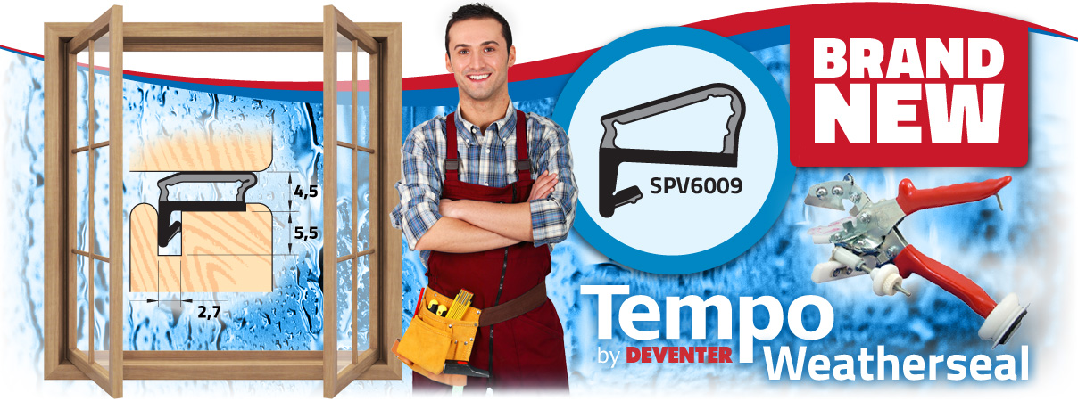 Brand New Deventer Tempo Weatherseal